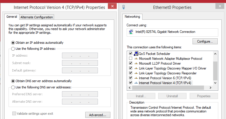 TCP/IP Adapter